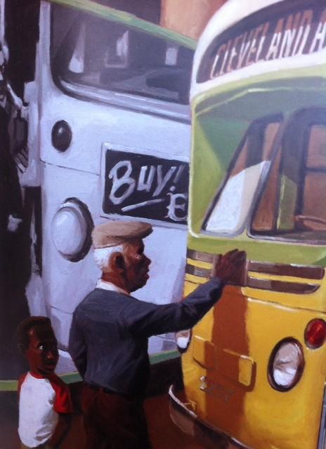 mano sul busfoto