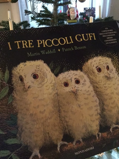 I tre piccoli gufi. Martin Waddell (autore), Maria Vago (traduzione), Patrick Benson (illustrazioni). Mondadori.