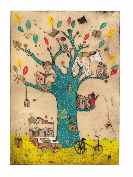 reading tree di Clothilde Stae