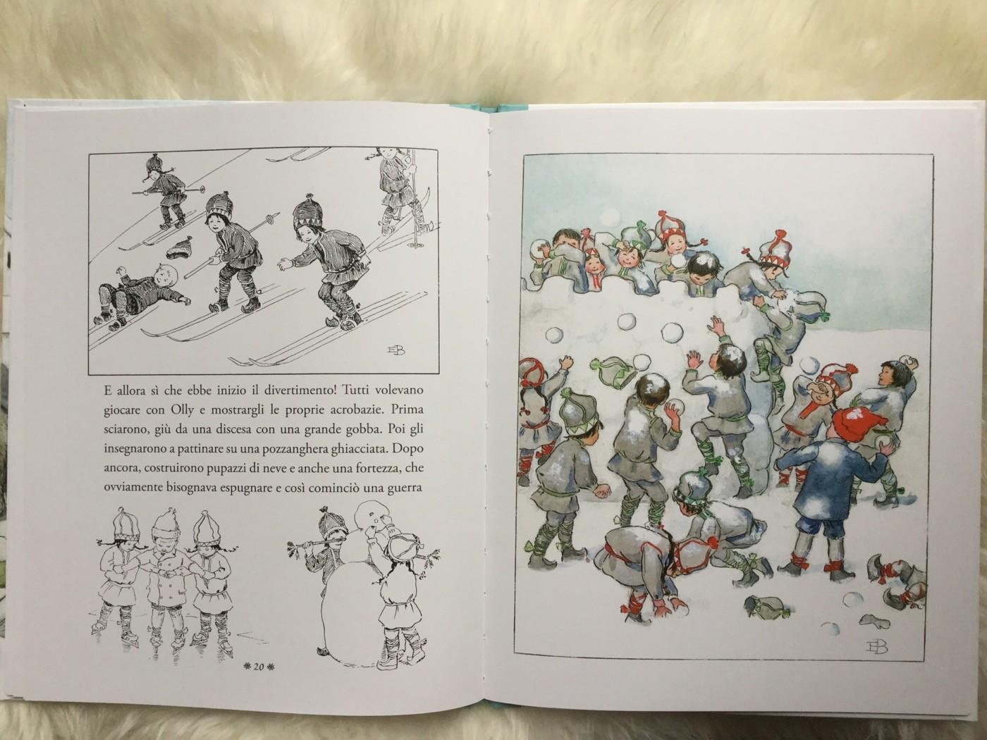 OLLY VA A SCIARE Elsa Beskow LO Editions