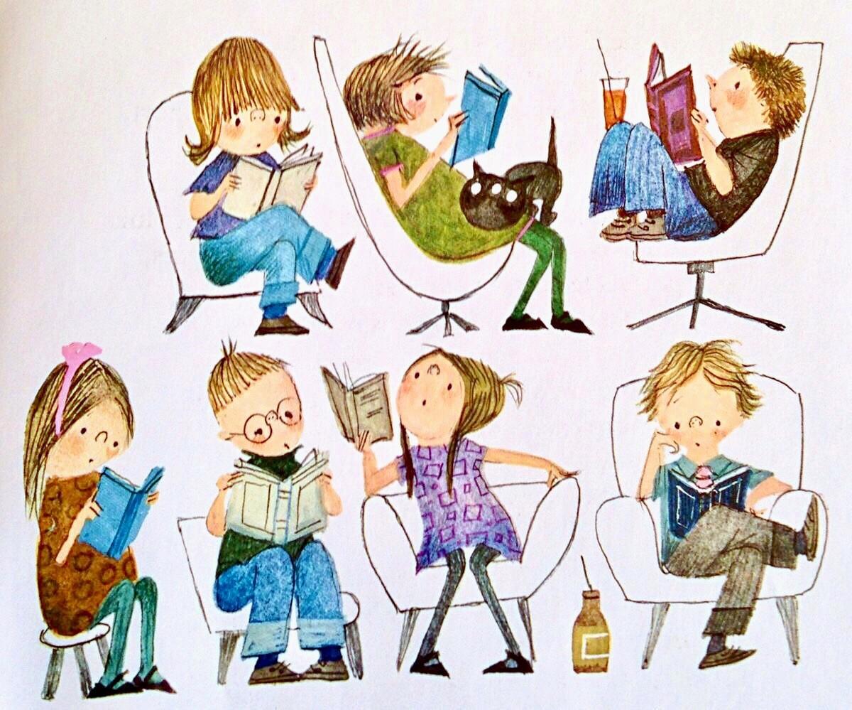 Illustrazione di Fiep Westendorp