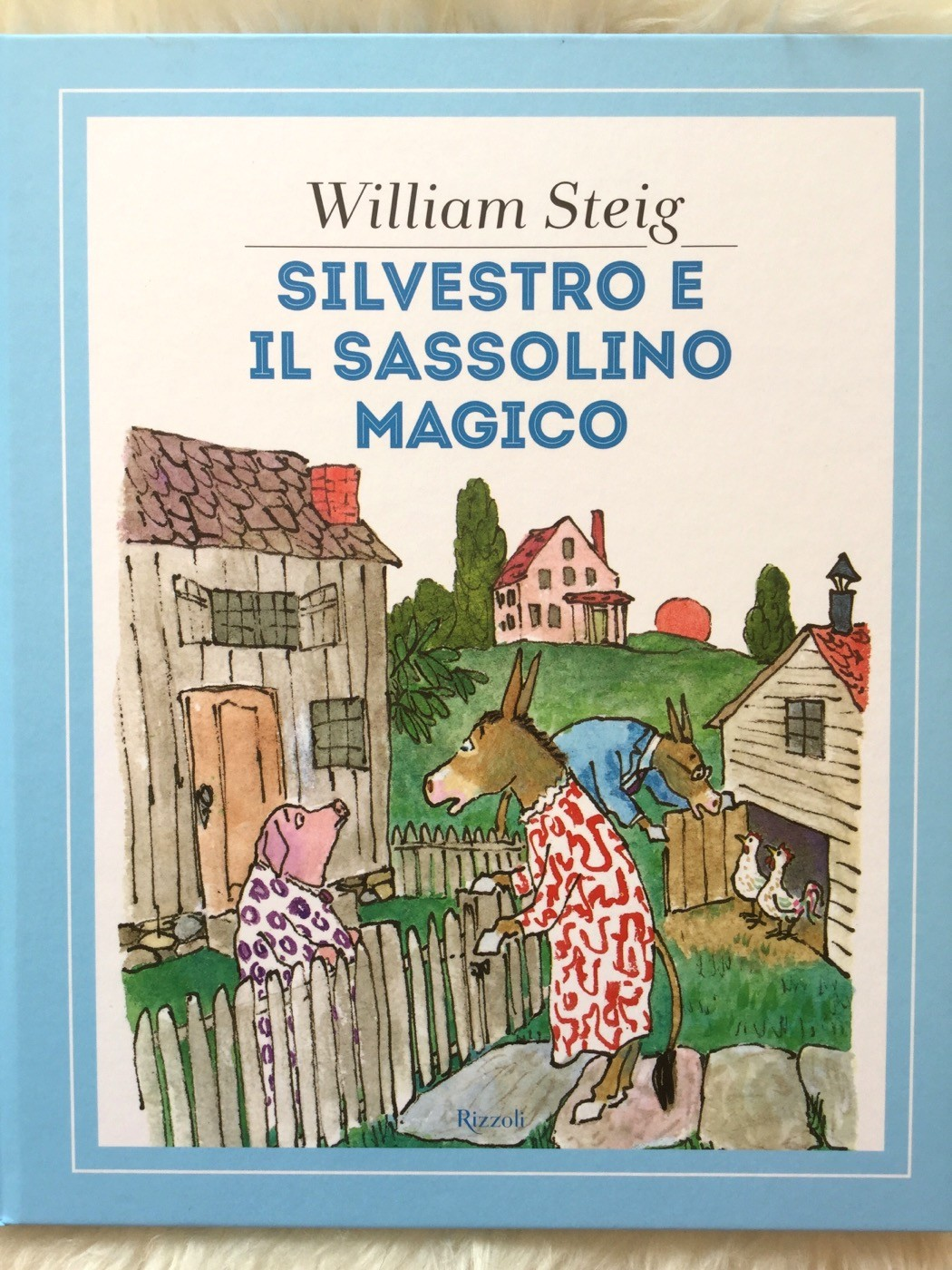 Silvestro e il sassolino magico | William Steig | Rizzoli - Galline Volanti