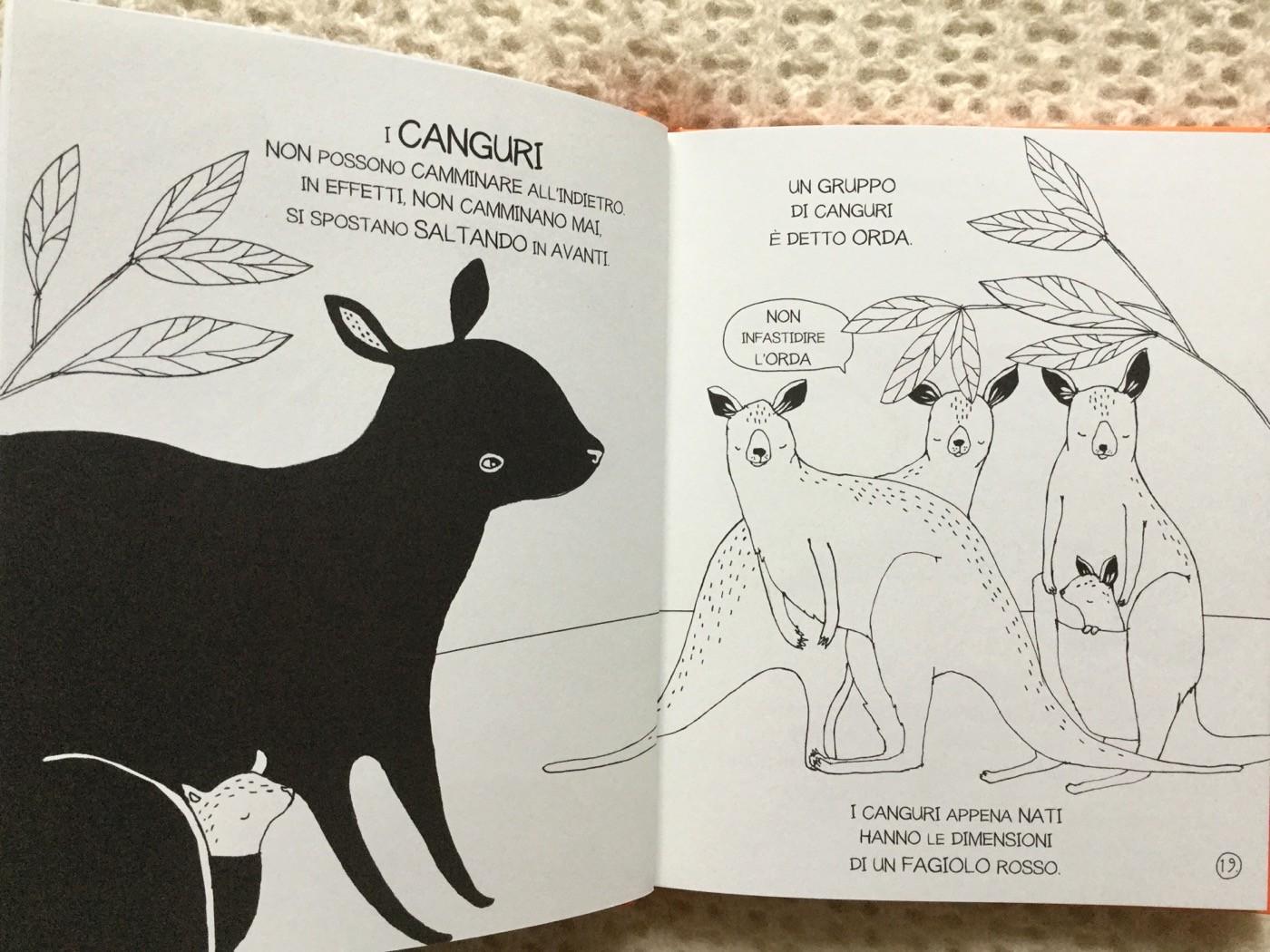 Il-piccolo-libro-dei-grandi-segreti-animali-Maja-Säfström-Nomos-Edizioni-Galline-Volanti