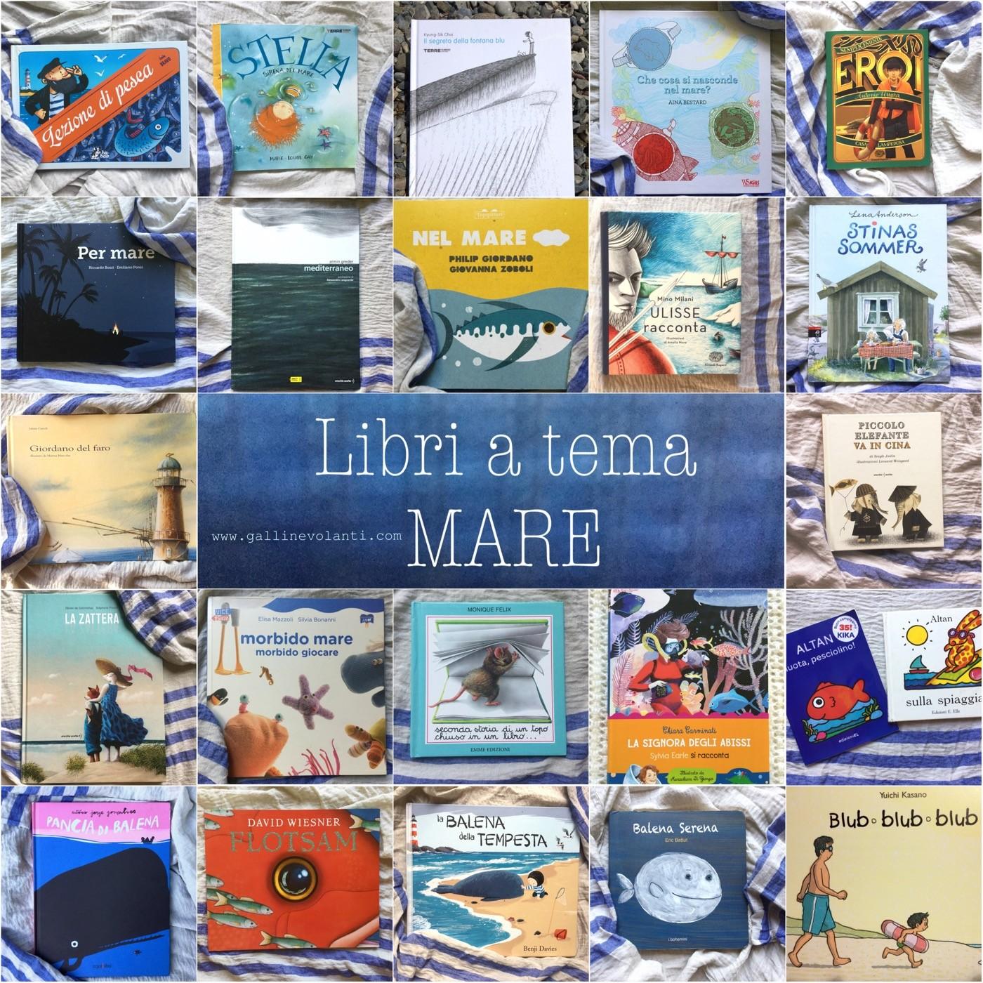 Libri per bambini a tema mare