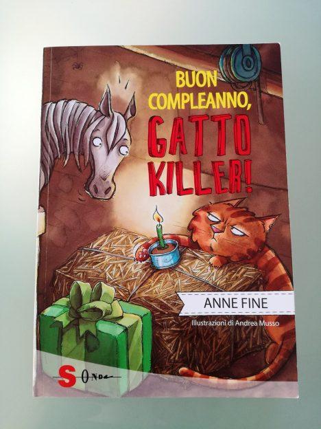 Buon-Compleanno-Gatto-Killer-Anne-Fine-Andrea-Musso-Sonda-Edizioni-Galline-Volanti