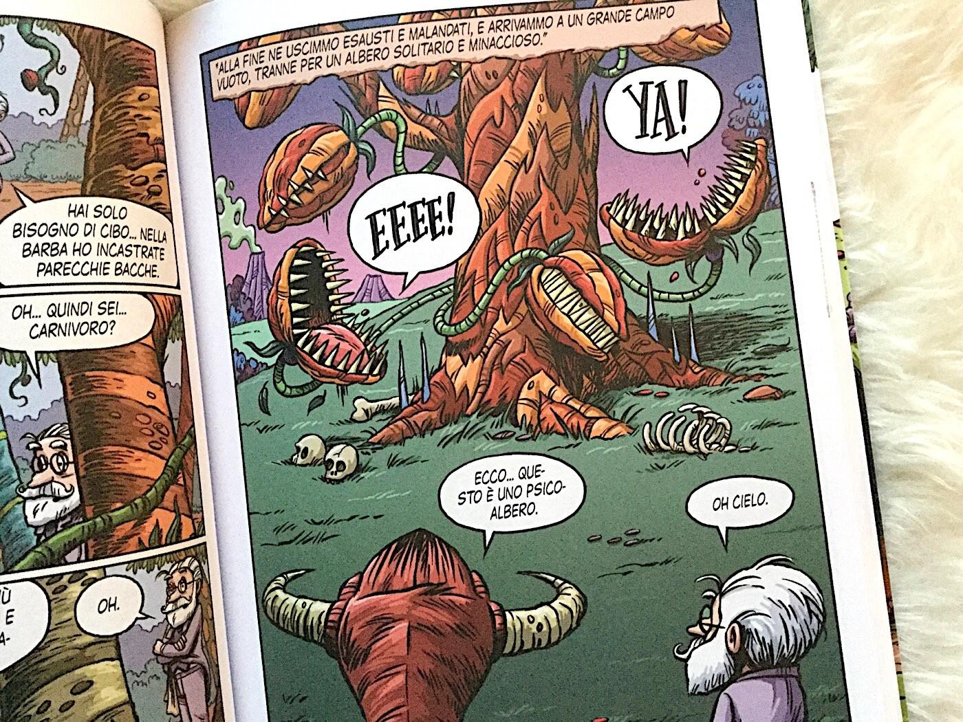 mostro-collina-rob-harrell-panini-comics-galline-volanti